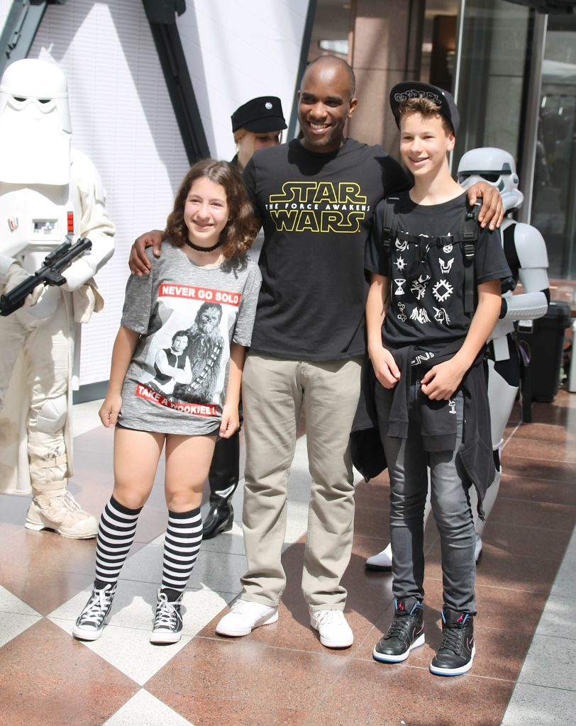 Phoenix James - Star Wars - First Order Stormtrooper Actor and Guest of Honor at CosDay Convention in Frankfurt Germany in conjunction with ProjectX1 and the 501st German Garrison 17