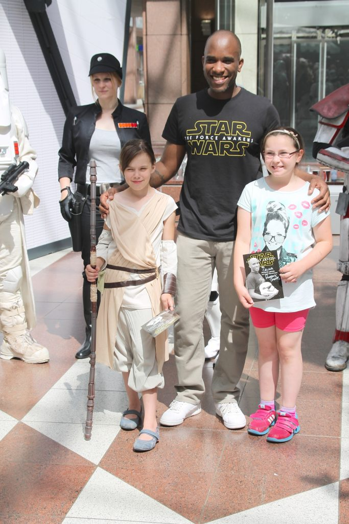 Phoenix James - Star Wars - First Order Stormtrooper Actor and Guest of Honor at CosDay Convention in Frankfurt Germany in conjunction with ProjectX1 and the 501st German Garrison 19