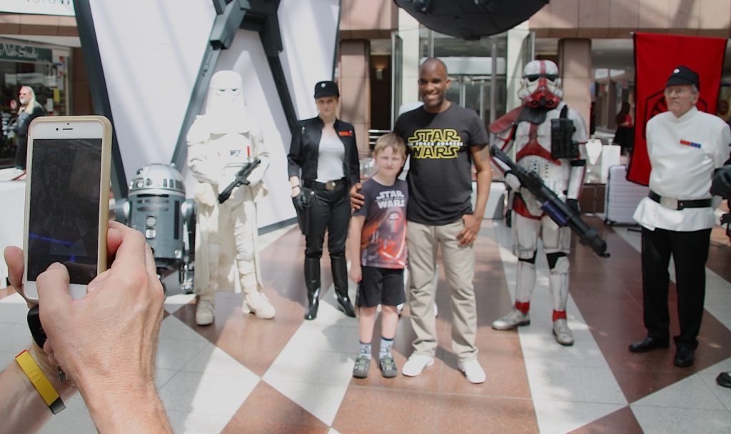 Phoenix James - Star Wars - First Order Stormtrooper Actor and Guest of Honor at CosDay Convention in Frankfurt Germany in conjunction with ProjectX1 and the 501st German Garrison 20