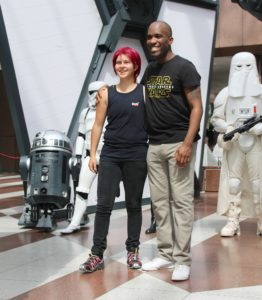 Phoenix James - Star Wars - First Order Stormtrooper Actor and Guest of Honor at CosDay Convention in Frankfurt Germany in conjunction with ProjectX1 and the 501st German Garrison 23