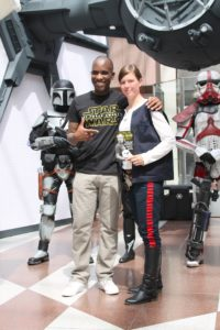 Phoenix James - Star Wars - First Order Stormtrooper Actor and Guest of Honor at CosDay Convention in Frankfurt Germany in conjunction with ProjectX1 and the 501st German Garrison 24