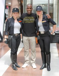 Phoenix James - Star Wars - First Order Stormtrooper Actor and Guest of Honor at CosDay Convention in Frankfurt Germany in conjunction with ProjectX1 and the 501st German Garrison 28