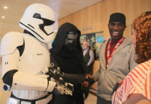 Phoenix James - Star Wars - First Order Stormtrooper Actor and Guest of Honor at CosDay Convention in Frankfurt Germany in conjunction with ProjectX1 and the 501st German Garrison