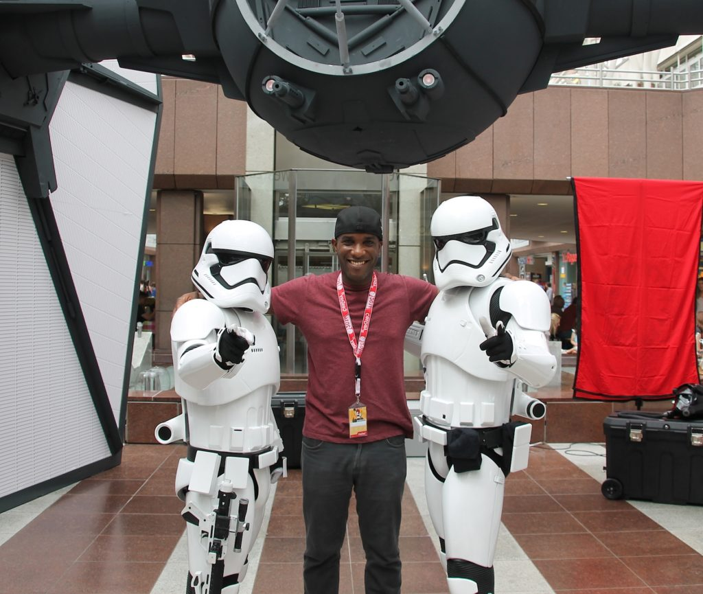 Phoenix James - Star Wars - First Order Stormtrooper Actor and Guest of Honor at CosDay Convention in Frankfurt Germany in conjunction with ProjectX1 and the 501st German Garrison 4