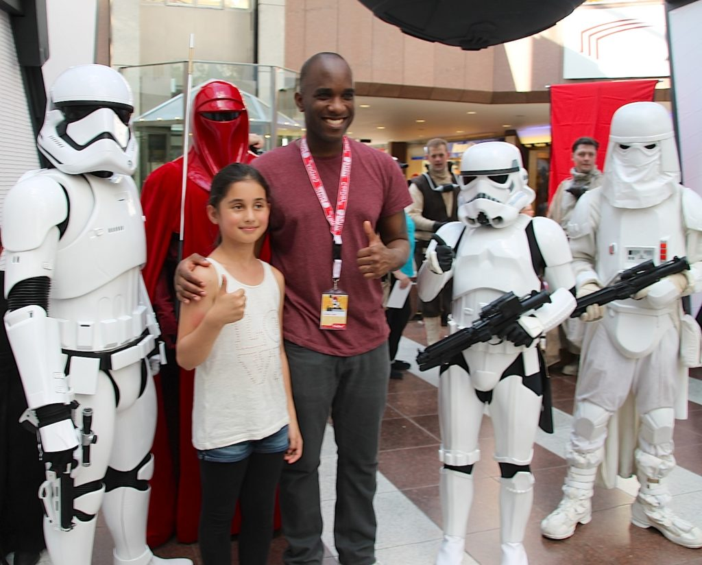 Phoenix James - Star Wars - First Order Stormtrooper Actor and Guest of Honor at CosDay Convention in Frankfurt Germany in conjunction with ProjectX1 and the 501st German Garrison 7