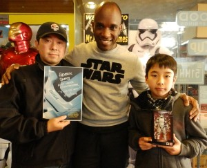 Phoenix James - Star Wars - First Order Stormtrooper Actor – Autograph Signing and Photo Session Tour - Tokyo, Japan 101