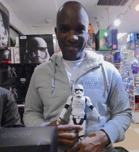 Phoenix James - Star Wars - First Order Stormtrooper Actors – Autograph Signing and Photo Session Tour - Tokyo, Japan 102 Episode 7 8 9 VII VIII IX