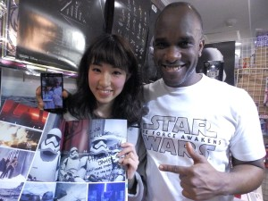 Phoenix James - Star Wars - First Order Stormtrooper Actors – Autograph Signing and Photo Session Tour - Tokyo, Japan 106 Episode 7 8 9 VII VIII IX
