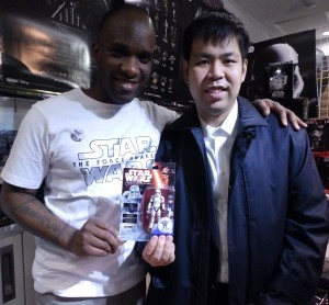 Phoenix James - Star Wars - First Order Stormtrooper Actor – Autograph Signing and Photo Session Tour - Tokyo, Japan 107