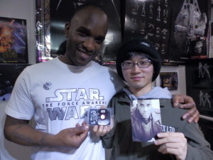 Phoenix James - Star Wars - First Order Stormtrooper Actor – Autograph Signing and Photo Session Tour - Tokyo, Japan 108
