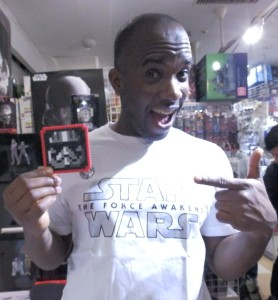 Phoenix James - Star Wars - First Order Stormtrooper Actor – Autograph Signing and Photo Session Tour - Tokyo, Japan 109 Episode 7 8 9 VII VIII IX