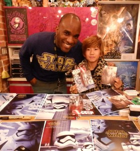 Phoenix James - Star Wars - First Order Stormtrooper Actor – Autograph Signing and Photo Session Tour - Tokyo, Japan 11