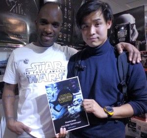 Phoenix James - Star Wars - First Order Stormtrooper Actor – Autograph Signing and Photo Session Tour - Tokyo, Japan 111