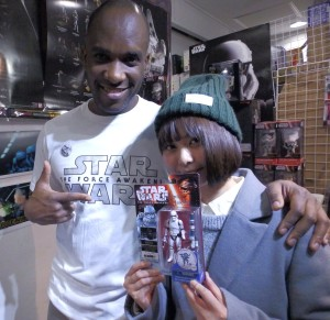 Phoenix James - Star Wars - First Order Stormtrooper Actor – Autograph Signing and Photo Session Tour - Tokyo, Japan 112
