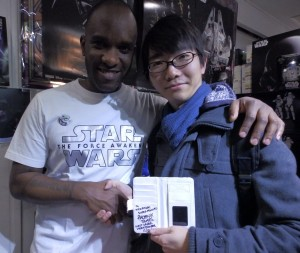 Phoenix James - Star Wars - First Order Stormtrooper Actor – Autograph Signing and Photo Session Tour - Tokyo, Japan 113