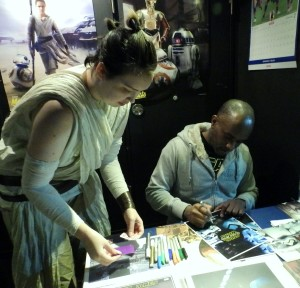 Phoenix James - Star Wars - First Order Stormtrooper Actor – Autograph Signing and Photo Session Tour - Tokyo, Japan 118