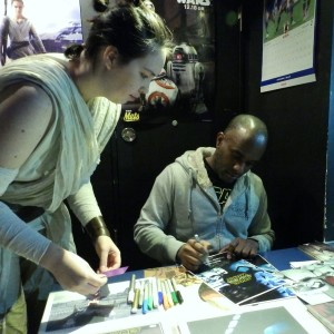 Phoenix James - Star Wars - First Order Stormtrooper Actor – Autograph Signing and Photo Session Tour - Tokyo, Japan 119