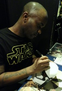 Phoenix James - Star Wars - First Order Stormtrooper Actors – Autograph Signing and Photo Session Tour - Tokyo, Japan 121 Episode 7 8 9 VII VIII IX