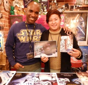 Phoenix James - Star Wars - First Order Stormtrooper Actor – Autograph Signing and Photo Session Tour - Tokyo, Japan 13