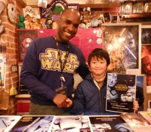 Phoenix James - Star Wars - First Order Stormtrooper Actor – Autograph Signing and Photo Session Tour - Tokyo, Japan 14