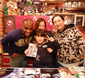Phoenix James - Star Wars - First Order Stormtrooper Actor – Autograph Signing and Photo Session Tour - Tokyo, Japan 16