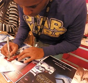 Phoenix James - Star Wars - First Order Stormtrooper Actor – Autograph Signing and Photo Session Tour - Tokyo, Japan 17