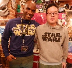 Phoenix James - Star Wars - First Order Stormtrooper Actor – Autograph Signing and Photo Session Tour - Tokyo, Japan 21