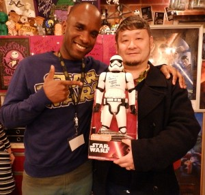 Phoenix James - Star Wars - First Order Stormtrooper Actor – Autograph Signing and Photo Session Tour - Tokyo, Japan 22