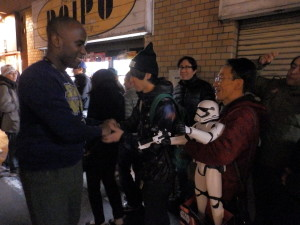 Phoenix James - Star Wars - First Order Stormtrooper Actor – Autograph Signing and Photo Session Tour - Tokyo, Japan 23