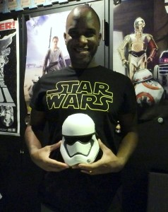 Phoenix James - Star Wars - First Order Stormtrooper Actors – Autograph Signing and Photo Session Tour - Tokyo, Japan Episode 7 8 9 VII VIII IX