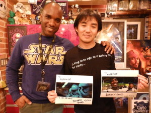 Phoenix James - Star Wars - First Order Stormtrooper Actor – Autograph Signing and Photo Session Tour - Tokyo, Japan 26