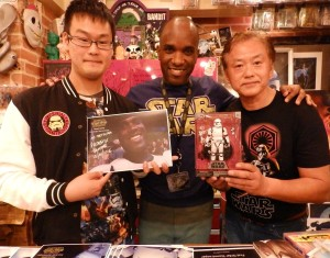Phoenix James - Star Wars - First Order Stormtrooper Actor – Autograph Signing and Photo Session Tour - Tokyo, Japan 27