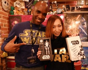 Phoenix James - Star Wars - First Order Stormtrooper Actor – Autograph Signing and Photo Session Tour - Tokyo, Japan 29