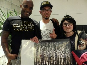 Phoenix James - Star Wars - First Order Stormtrooper Actor – Autograph Signing and Photo Session Tour - Tokyo, Japan 3