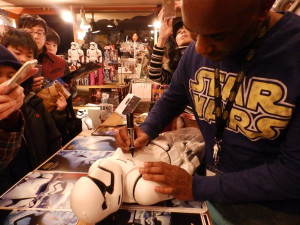 Phoenix James - Star Wars - First Order Stormtrooper Actor – Autograph Signing and Photo Session Tour - Tokyo, Japan 30 Episode 7 8 9 VII VIII IX