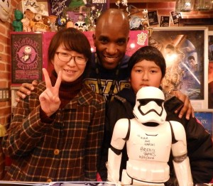 Phoenix James - Star Wars - First Order Stormtrooper Actor – Autograph Signing and Photo Session Tour - Tokyo, Japan 31