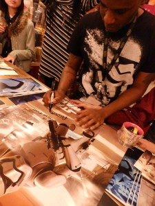 Phoenix James - Star Wars - First Order Stormtrooper Actor – Autograph Signing and Photo Session Tour - Tokyo, Japan 39
