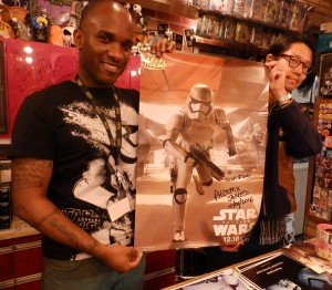 Phoenix James - Star Wars - First Order Stormtrooper Actor – Autograph Signing and Photo Session Tour - Tokyo, Japan 40