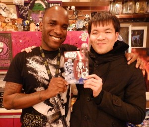 Phoenix James - Star Wars - First Order Stormtrooper Actor – Autograph Signing and Photo Session Tour - Tokyo, Japan 45