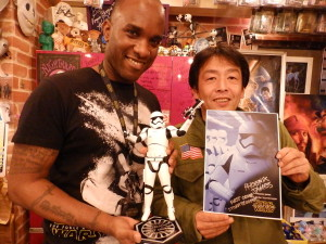 Phoenix James - Star Wars - First Order Stormtrooper Actor – Autograph Signing and Photo Session Tour - Tokyo, Japan 47