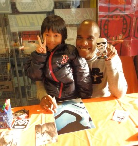 Phoenix James - Star Wars - First Order Stormtrooper Actor – Autograph Signing and Photo Session Tour - Tokyo, Japan 50