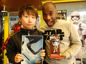 Phoenix James - Star Wars - First Order Stormtrooper Actor – Autograph Signing and Photo Session Tour - Tokyo, Japan 52