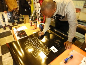 Phoenix James - Star Wars - First Order Stormtrooper Actor – Autograph Signing and Photo Session Tour - Tokyo, Japan 53 Episode 7 8 9 VII VIII IX