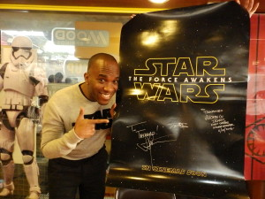 Phoenix James - Star Wars - First Order Stormtrooper Actors – Autograph Signing and Photo Session Tour - Tokyo, Japan 54 Episode 7 8 9 VII VIII IX