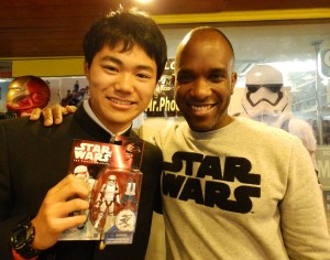 Phoenix James - Star Wars - First Order Stormtrooper Actor – Autograph Signing and Photo Session Tour - Tokyo, Japan 55
