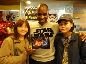 Phoenix James - Star Wars - First Order Stormtrooper Actor – Autograph Signing and Photo Session Tour - Tokyo, Japan 56