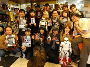 Phoenix James - Star Wars - First Order Stormtrooper Actor – Autograph Signing and Photo Session Tour - Tokyo, Japan 57