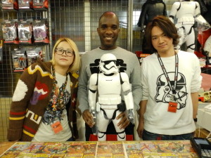 Phoenix James - Star Wars - First Order Stormtrooper Actor – Autograph Signing and Photo Session Tour - Tokyo, Japan 58 Episode 7 8 9 VII VIII IX