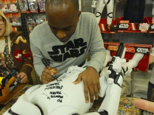 Phoenix James - Star Wars - First Order Stormtrooper Actors – Autograph Signing and Photo Session Tour - Tokyo, Japan 59 Episode 7 8 9 VII VIII IX