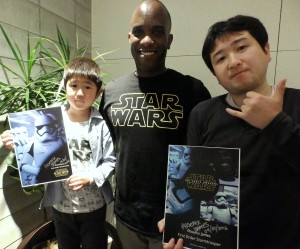 Phoenix James - Star Wars - First Order Stormtrooper Actor – Autograph Signing and Photo Session Tour - Tokyo, Japan 6 Episode 7 8 9 VII VIII IX